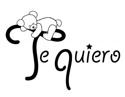 Vinilos decorativos online para beb s te quiero 03265 for Calcomanias para pared infantiles