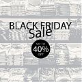 Vinilo decorativo PERSONALIZADO para escaparates BLACK FRIDAY - Vinilos adhesivos para escaparates de tiendas 07381