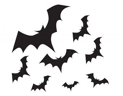 Vinilos decorativos halloween murci lagos en la noche 02466 tienda online de vinilos - Murcielagos para halloween ...