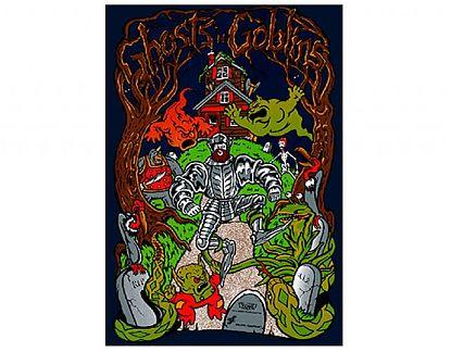 P ster de vinilo adhesivo ghosts 39 n goblins 02205 - Posters de vinilo ...