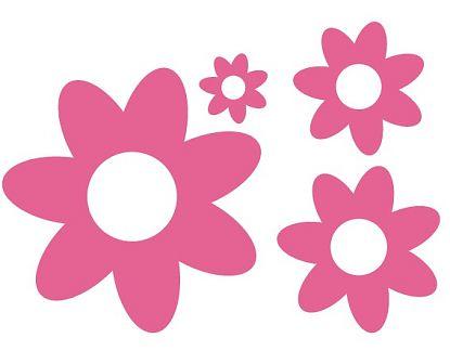 Vinilo Decorativo Flores Infantiles 01338 Los Mejores Vinilos
