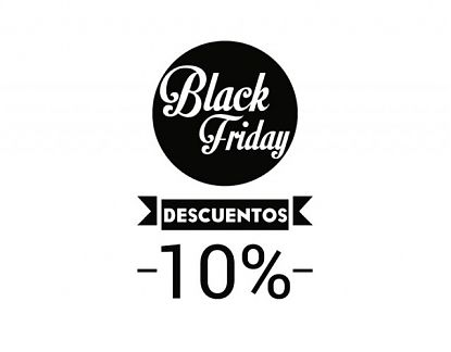 Vinilo personalizado para escaparates de tiendas Black Friday 06123