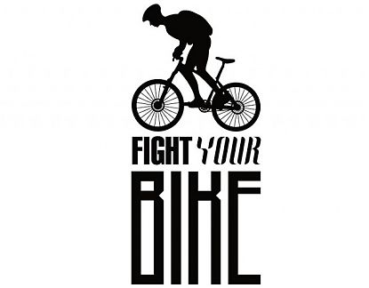 Vinilo Decorativo Bicicleta de Montaña fight your bike 02815