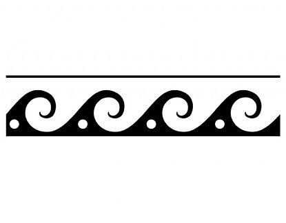 Complementos decorativos cenefas geom tricas 6 1 02195 tienda online de vinilos decorativos - Dibujos de cenefas ...