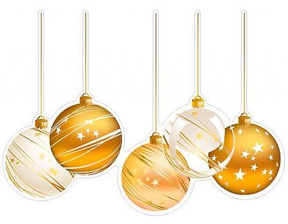 Stickers de vinilo navidad bolas navide as 5 01995 for Bolas de navidad baratas