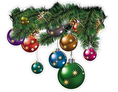 adhesivo de vinilo navidad para vidrieras adornos