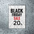 Vinilo Black Friday escaparates PERSONALIZADO - Cartel Black Friday - Pegatina adhesiva Black Friday 07323