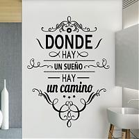 Vinilos decorativos frases letras tienda online de vinilos decorativos stickers wall art - Frases para vinilos habitacion ...