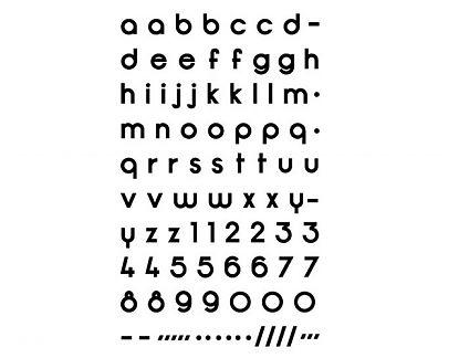Letras adhesivas personalizadas de vinilo para crear tus propios