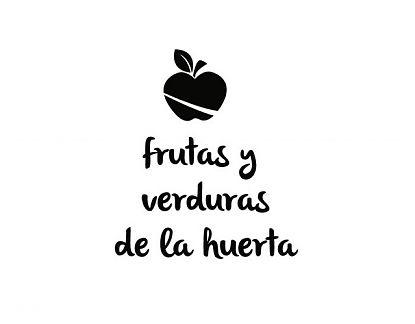 Vinilos Textos Tiendas Y Comercios Frutas Y Verduras De La Huerta