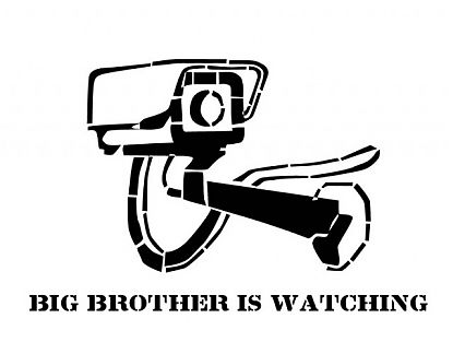 Vinilo Adhesivo Big Brother Is Watching 02725