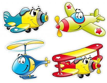 Decoraci n con vinilos decorativos aviones infantiles for Vinilos de pared infantiles