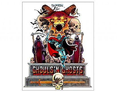 P ster de vinilo ghouls n ghosts 02206 tienda online - Posters de vinilo ...