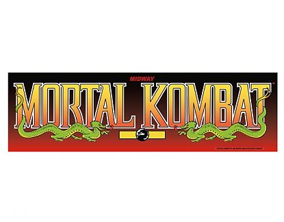 Vinilo adhesivo online decoración recreativas arcade Mortal Kombat 04020