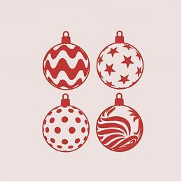 Vinilos decorativos Navidad Adornos Navidad Tienda online de