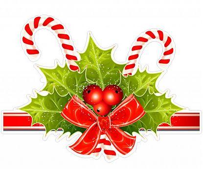 Adhesivo de Vinilo Navidad para escaparates Adornos Navidad 7