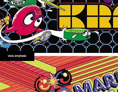 Stickers De Juegos Clasicos De Las Maquinas Recreativas Amstrad