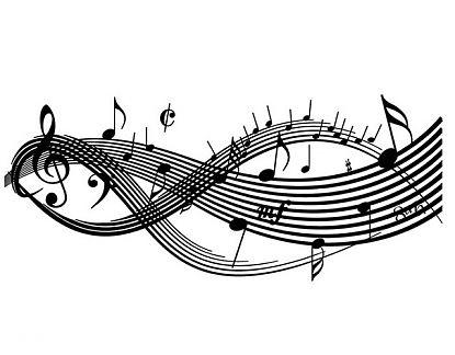 Vinilo Decorativo Pentagrama Musical Notas Musicales 04843