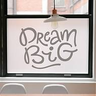 "¿Cómo personalizar y decorar las paredes del hogar? Vinilo decorativo para paredes ""DREAM BIG"" 06458"