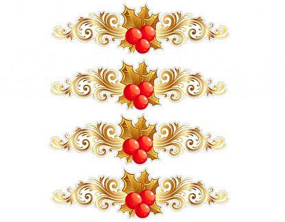 Adhesivo de vinilo navidad para vidrieras en tiendas y - Adornos navidenos para comercios ...