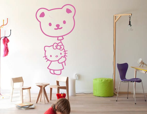 decoraci n de espacios infantiles mediante vinilos