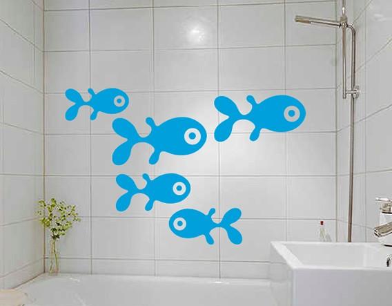 Decoracion De Baño Infantil:Baños infantiles: decoración con vinilos para los más pequeños