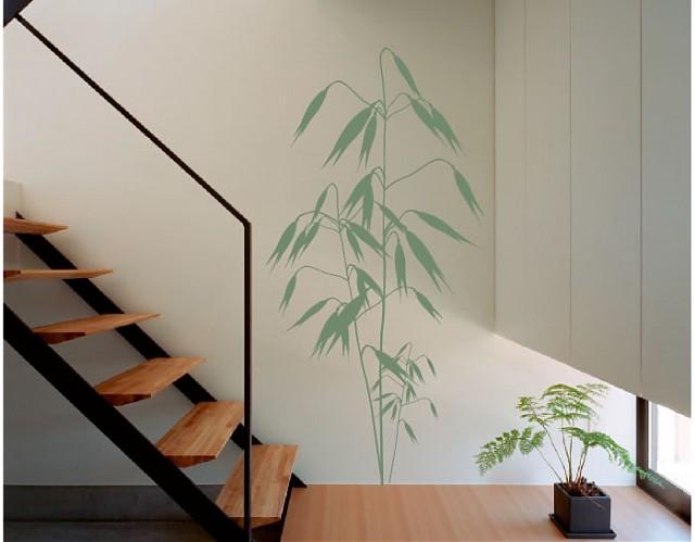 Vinilo decoraci n de paredes belleza floral 2 01953 for Vinilos decorativos para entradas