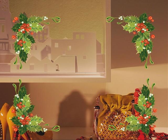 Vinilos Decoracion Navidad ~ Vinilos Decoraci?n Navidad para Vidrieras  Adornos en las cuatro