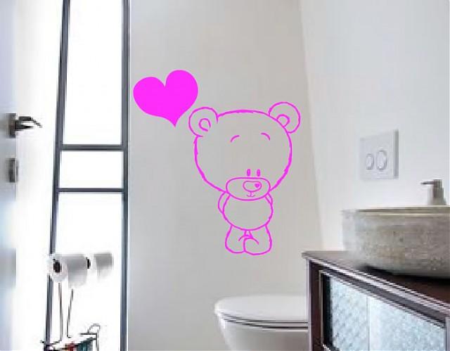 Baños Para Ninos Rebeldes: baño con vinilos infantiles, la mejor idea para los peques de la casa