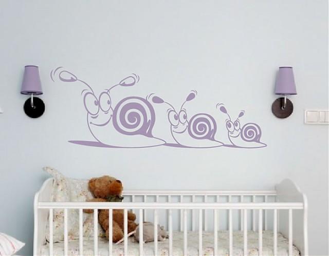 Vinilo beb s para decoraci n infantil todos en fila - Decoracion bebes vinilos ...