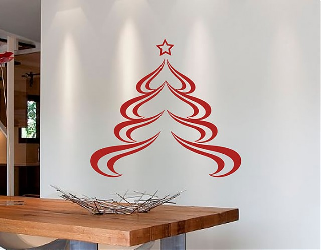 Vinilos decorativos florales tienda online de vinilos - Murales decorativos de navidad ...