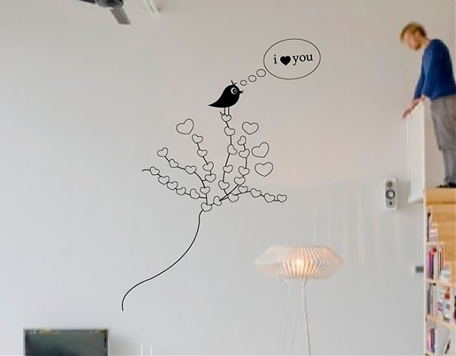 """Vinilo Adhesivo """"El árbol del amor"""""""