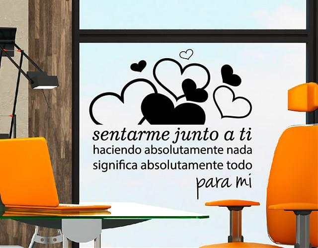 Vinilos Frases de Amor