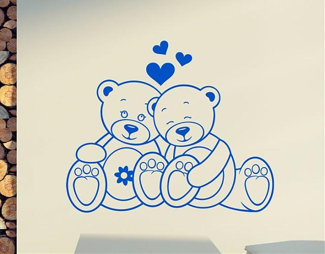 Vinilos decorativos infantiles ositos tienda online for Donde venden stickers decorativos