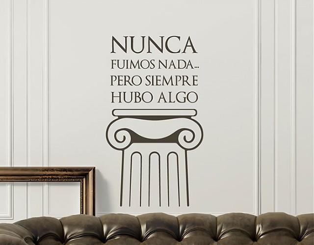 textos y frases curiosas para decorar paredes