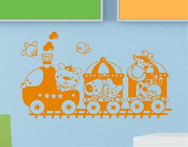 vinilos online infantiles  -El tren del circo 03583