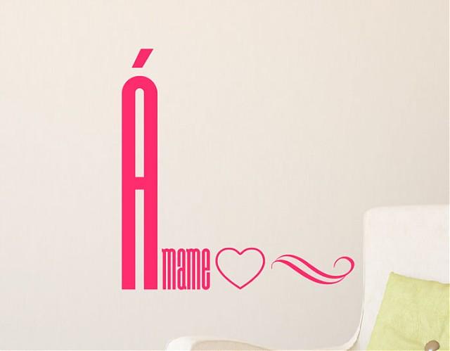 Complementos decorativos románticos en vinilo