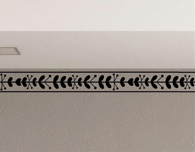 Decorar la casa con cenefas adhesivas online fabricadas en vinilo