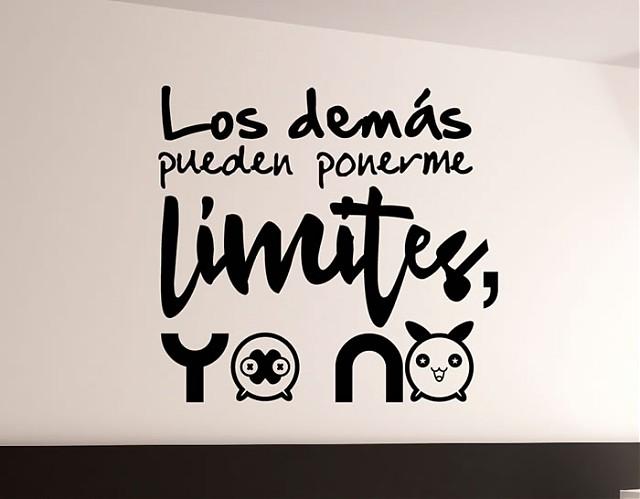 Tienda online de vinilos decorativos stickers wall art - Vinilos con textos ...