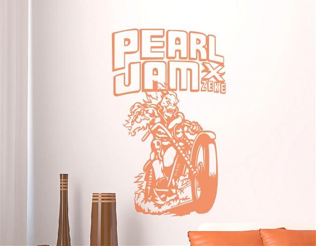 Vinilos imagenes vinilos musicales grupo de rock pearl jam for Vinilos decorativos grupos musicales