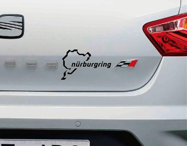 Circuito Vehiculos : Vinilo decoración de vehículos quot circuito nürburgring