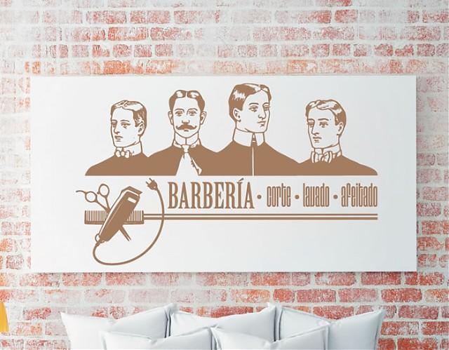 Decoraci n de barber as con vinilos decorativos barber a - Posters de vinilo ...