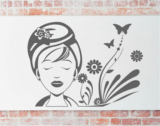 Imagenes De Decoracion De Centros De Estetica ~ Decoraci?n de paredes con vinilos adhesivos para centros de belleza