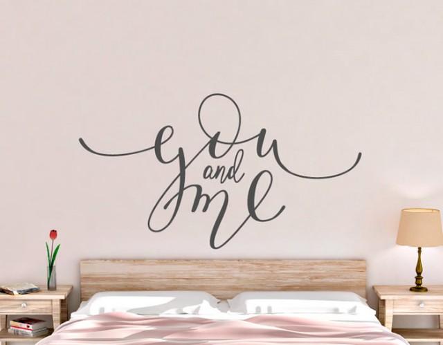 Vinilo pared novios tienda online de vinilos decorativos for Stickers decorativos de pared