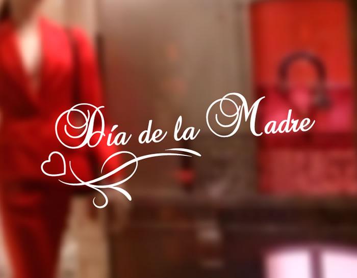 Vinilo escaparate tiendas para el d a de la madre 04903 for Decoracion para el dia de la madre