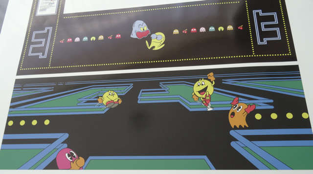 recreativas arcade decoración con pegatinas de vinilo