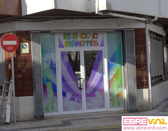 Tienda online de vinilos decorativos stickers wall art for Colocacion vinilo en cristal