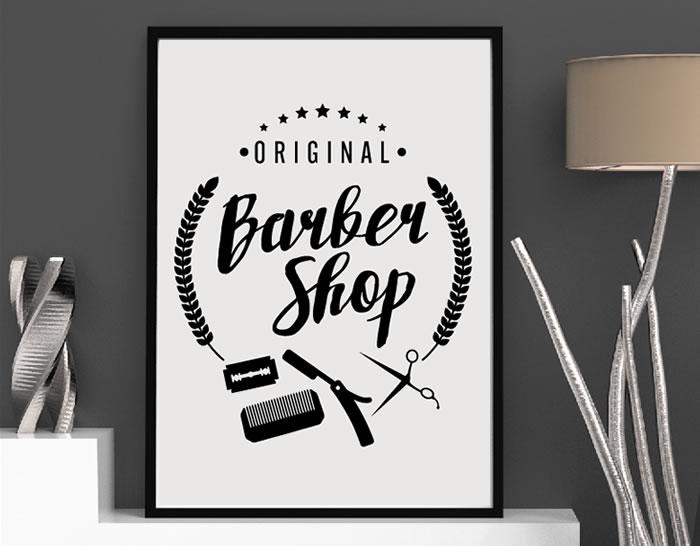 Decorar barber as con vinilos adhesivos original barber for Outlet de decoracion online