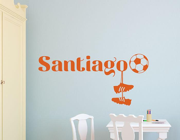 Vinilos de nombres propios infantiles personalizados futbolista 04943 tienda online de - Vinilo nombre bebe ...