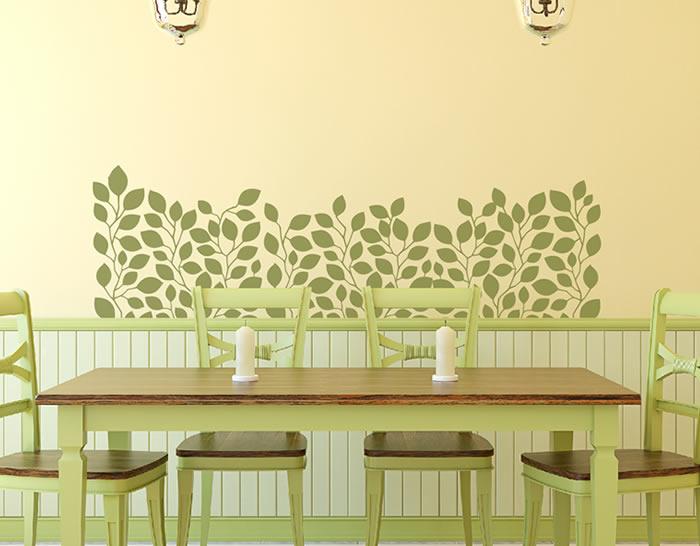 Vinilo floral especial para la decoraci n de la casa plantas trepadoras 04993 tienda online - Enredaderas de interior ...